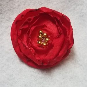 Other - Handmade unique flower hair bow clip